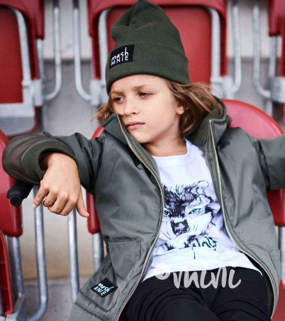 BOY limited chlapecké triko s krátkým rukávem žluté