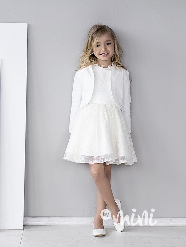 450e67e3832f Bílé luxury svatební bolerko - Skladem