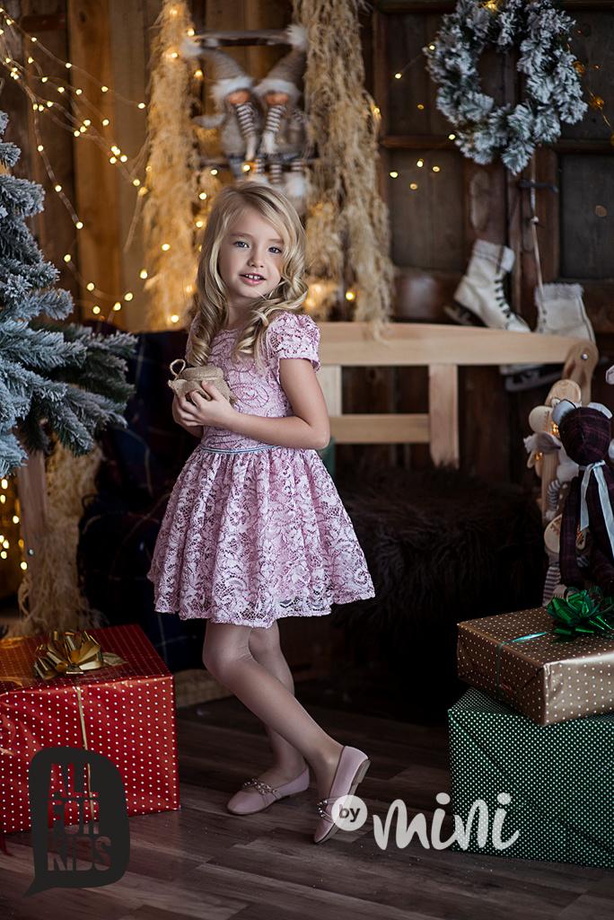 9500df731979 Slavnostní dívčí růžové krajkové Princess šaty