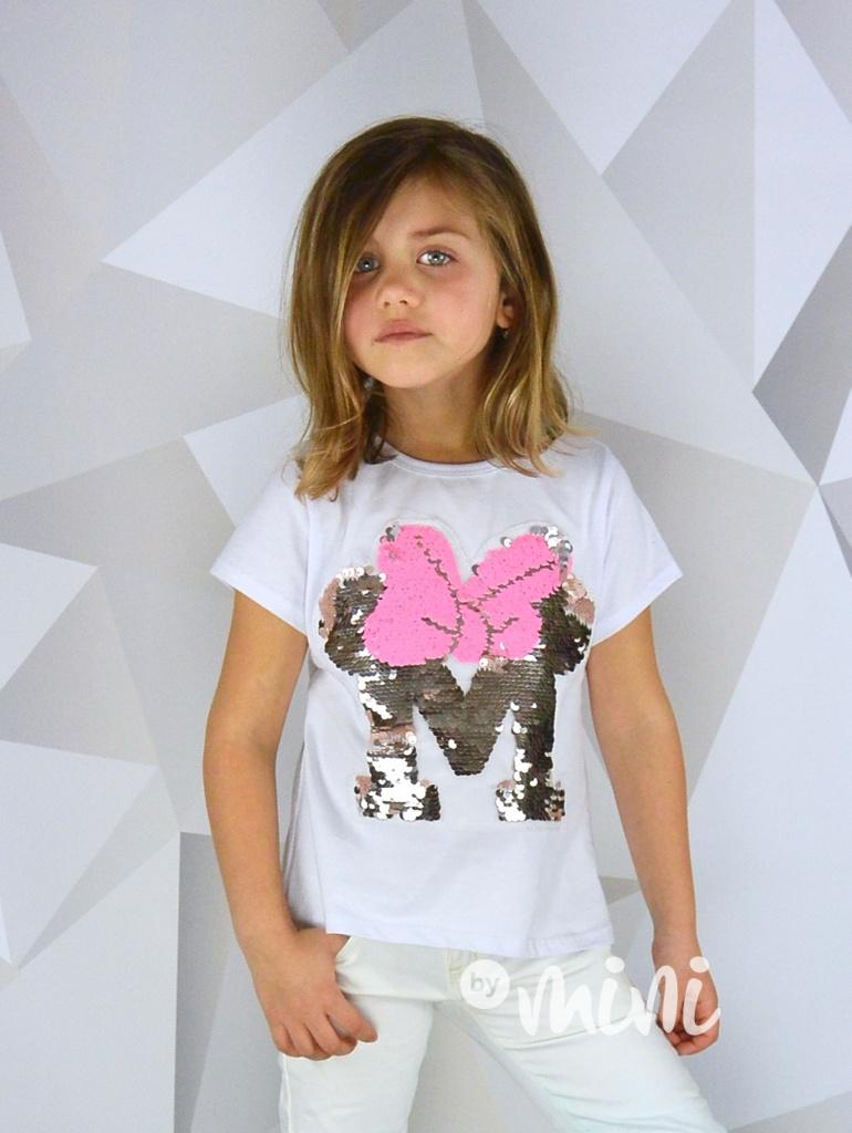 Dětskát tunika Princess MEOW - růžová s kočičkou - Skladem