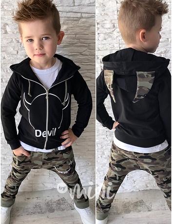 DEVIL chlapecká souprava army. skladem a89b54b9dd