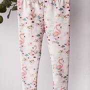 Flamingo soft cotton legíny *Lily Grey*
