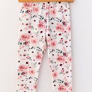 Tender rose soft cotton legíny *Lily Grey*