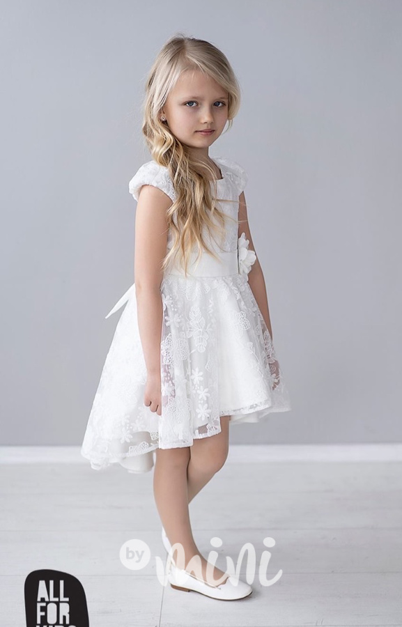 c7df244fc74f Luxury smetanové šaty pro družičky - Skladem