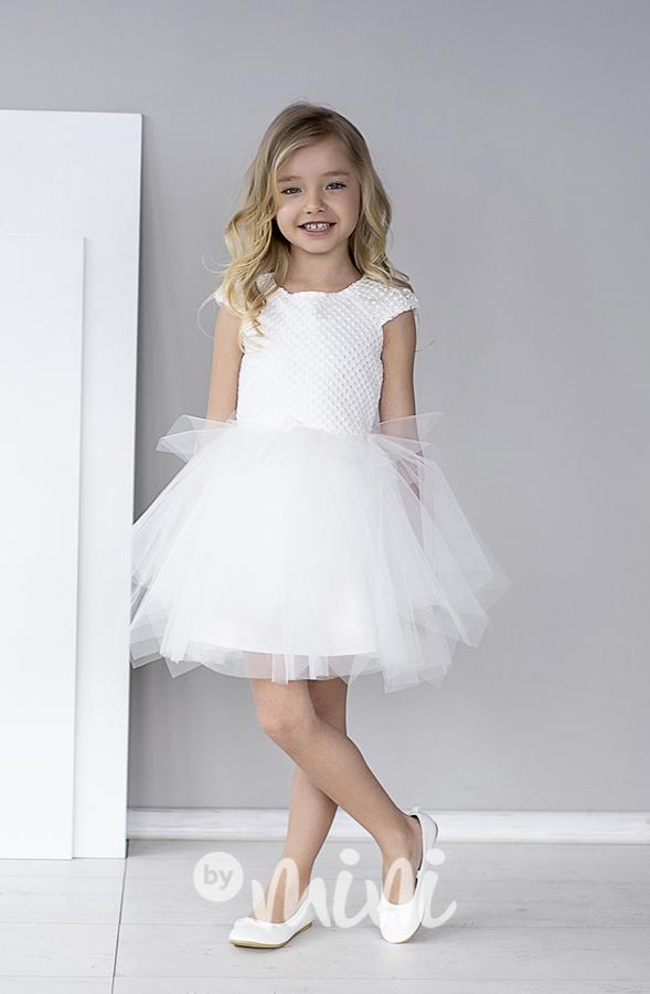 4fd17835ccf0 Luxury white šaty pro družičky - Skladem
